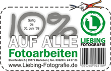 Coupon LiebingFotografie