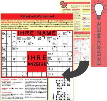 Ihre Anzeige im Kreuzworträtsel